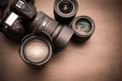 カメラとレンズ