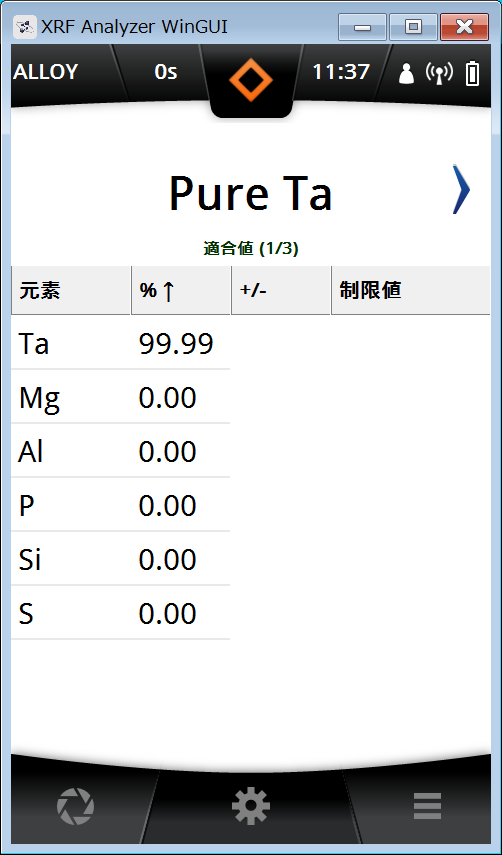 Pure Ta