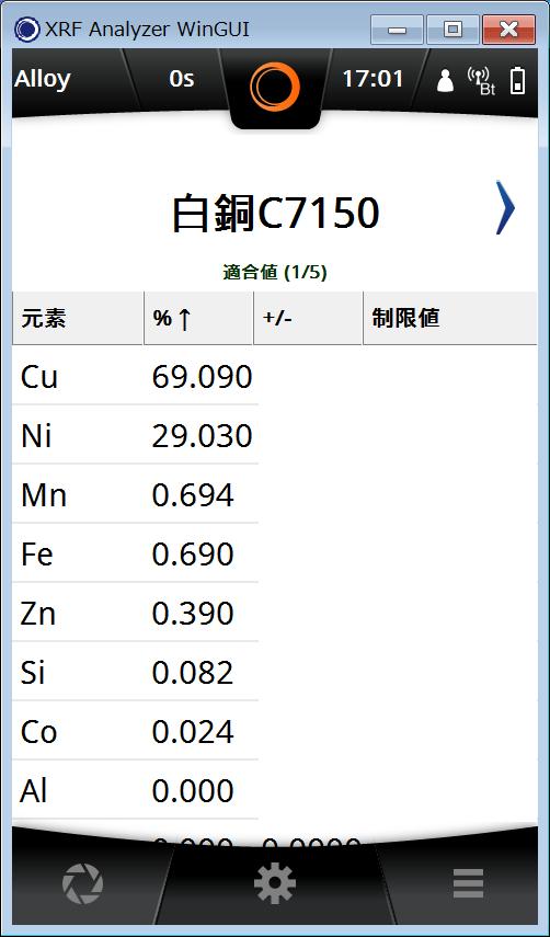 白銅C7150